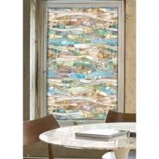 artscape 24 in x 36 in new leaf decorative window film