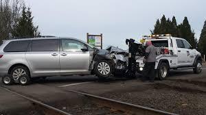 100 Truck Vs Car No One Hurt In Car Vs Train Crash Near Corvallis Local
