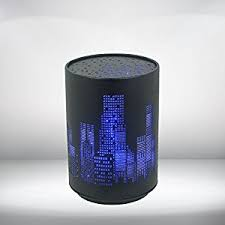 new york le veilleuse led socle tactile décor building