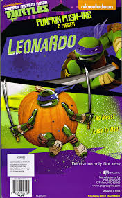 Pumpkin Push Ins by Pti Group Nickelodeon Teenage Mutant Ninja Turtles