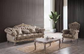 casa padrino luxus barock sofa braun grau gold 240 x 96 x h 94 cm prunkvolles wohnzimmer sofa mit dekorativen kissen möbel im barockstil