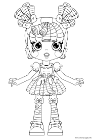 Shoppies Milly Mops For Kids Coloring Pages