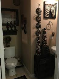 Leopard And Red Bathroom Decor by Animal Print Bathroom Ideas