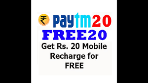 Paytm RS.20/ Real 100% Working - Free Promo Code For Recharge New Users