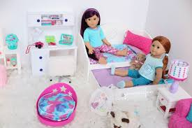 american doll trundle bed bedding set bedroom youtube