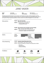 100 How To Write A Good Resume To A Great Even If You Have No Experience Sample