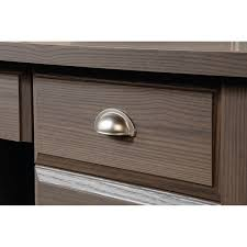 Sauder Shoal Creek Desk Jamocha Wood by Sauder Shoal Creek Desk Diamond Ash Best Home Furniture Decoration