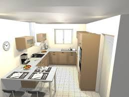 cuisine en u avec table cuisine en u avec table photos de design d intérieur et