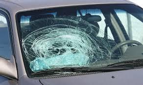 A Broken Windshield   Auto Glass Repair & Replacement