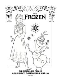 Kids Coloring Disney Frozen Printable Pages At 1000 Images About Ritmallar On Pinterest