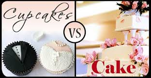 Wedding Cupcakes Vs Cake