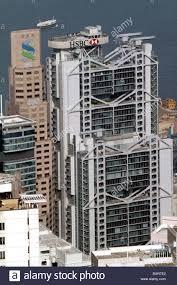 hsbc siege le bâtiment principal du siège de la banque hsbc à hong kong chine