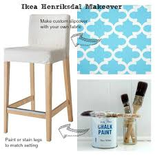 Ikea Henriksdal Chair Cover White by Ikea Hack Breakfast Bar Stool Breakfast Bar Stools Breakfast