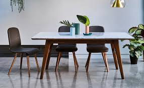Combining Modern And Mid Century Style Is The Blake Dining Table Result Of A Collaboration Between Heals Designer Adam Daghorn