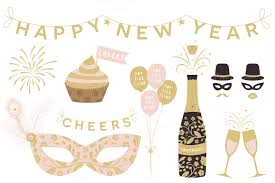 Happy new year clipart assets creative market Clipartix