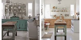 A Shabby Chic Kitchen Gets Bright Modern Makeover