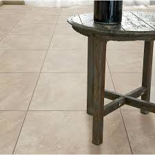 style selections 18 in x 18 in almond porcelain floor tile