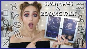 MY ZODIAC COLLECTION WITH COLOURPOP!!!!!!!! #TheZodiac Huge Colourpop Haul Lipsticks Eyeshadows Foundation Palettes More Colourpop Blushes Tips And Tricks Demo How To Apply A Discount Or Access Code Your Order Colourpop X Eva Gutowski The Entire Collection Tutorial Swatches Review Tanya Feifel Ultra Satin Lips Lip Swatches Review Makeup Geek Coupon Youtube Dose Of Colors Full Face Using Only New No Filter Sted Makeup Favorites Must Haves Promo Coupon