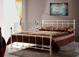 Svelvik Bed Frame by Metal Bed Furniture Store In Leicester World Of Furniture
