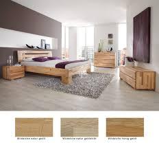 schlafzimmer losone eiche massivholzbett auswahl kommode lowboard nako expendio