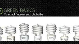 cfl bulbs or compact fluorescent light bulbs energy savings