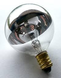 g16 half chrome globe light bulbs 25 watt g16 globe light bulb
