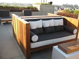 Image Of Wood Modern Outdoor Furniture Sets Ideas