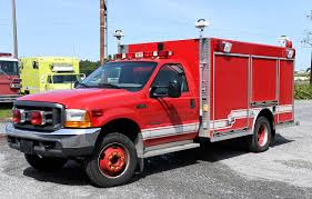 Sold 2000 FORD Mini-Rescue - Command Fire Apparatus