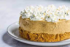 Pumpkin Cheesecake Gingersnap Crust Bon Appetit by French Pumpkin Cheesecake Mon Petit Four