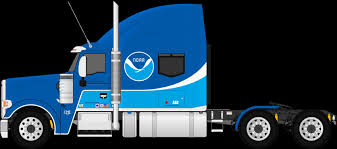 Semi Trucks And Trailers Best Fmc 850c Fictional Noaa Semi Trailer ...