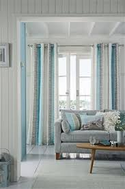 Blue Sheer Curtains Uk by The 25 Best Coastal Inspired Eyelet Curtains Ideas On Pinterest