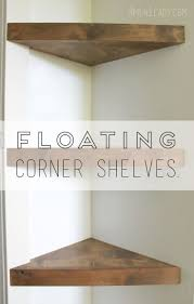 BathroomBest Floating Corner Shelves Ideas On Pinterest Shelf Unit Brilliantly Creative Diy Shelving For
