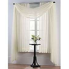 Thermal Curtains Bed Bath And Beyond by Smart Sheer Insulating Voile Window Curtain Panel Bed Bath U0026 Beyond