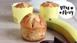 schoko bananen muffins köstlich einfach mrs flury
