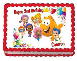 Bubble Guppies Cake Toppers by Bubble Guppies Cake Etsy
