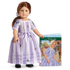 American Girl Doll Felicity Tea Set