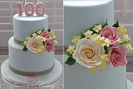 Floral Number Cake Topper By Barneys Bakery