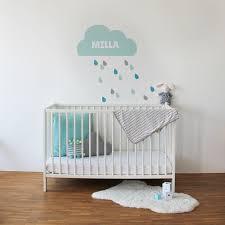 personalisieren kissen mit name wolke grau baby deko