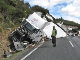 100 Truck Accident Today ACCIDENT SCENES 49 Fatal Truck Vs Truck SH5 Taupo