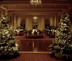 Bethlehem Lights Christmas Tree With Instant Power by Winter Is A Wonderful Time For A Wedding Ballroom Otesaga Hotel