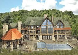 Alpine Mega Mansion Floor Plan by Floor Plans Luxury Log Homes Page 1
