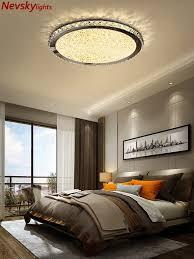 moderne led deckenleuchten wohnzimmer luxus kristall decken le schlafzimmer runde kristall leuchten küche kristall decke len