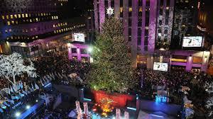 Nbc Rockefeller Christmas Tree Lighting 2014 by Secrets Of The Rockefeller Center Christmas Tree Am New York