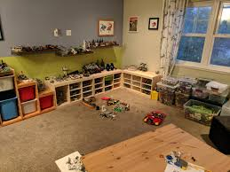 100 Lego Space Home Our Workplay Space Got Organized Imgur