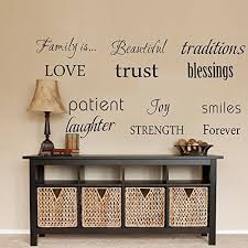 decorative words for walls wall decor words