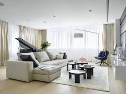 Modern Living Room By Alexandra Fedorova Ideas Luxury Apartment Design Featured On Beast