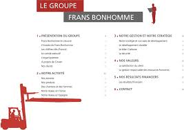 frans bonhomme siege social le groupe frans bonhomme pdf