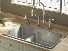 100 kohler cast iron sink enamel care large 48 16 vintage