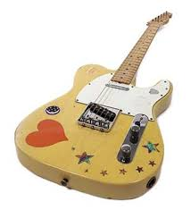 1973 Fender Telecaster Guitar Stage Played By The Immortal Blues Rock Guitarist Stevie Ray