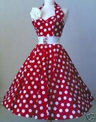Cute Red And White Swing Dancing Dress